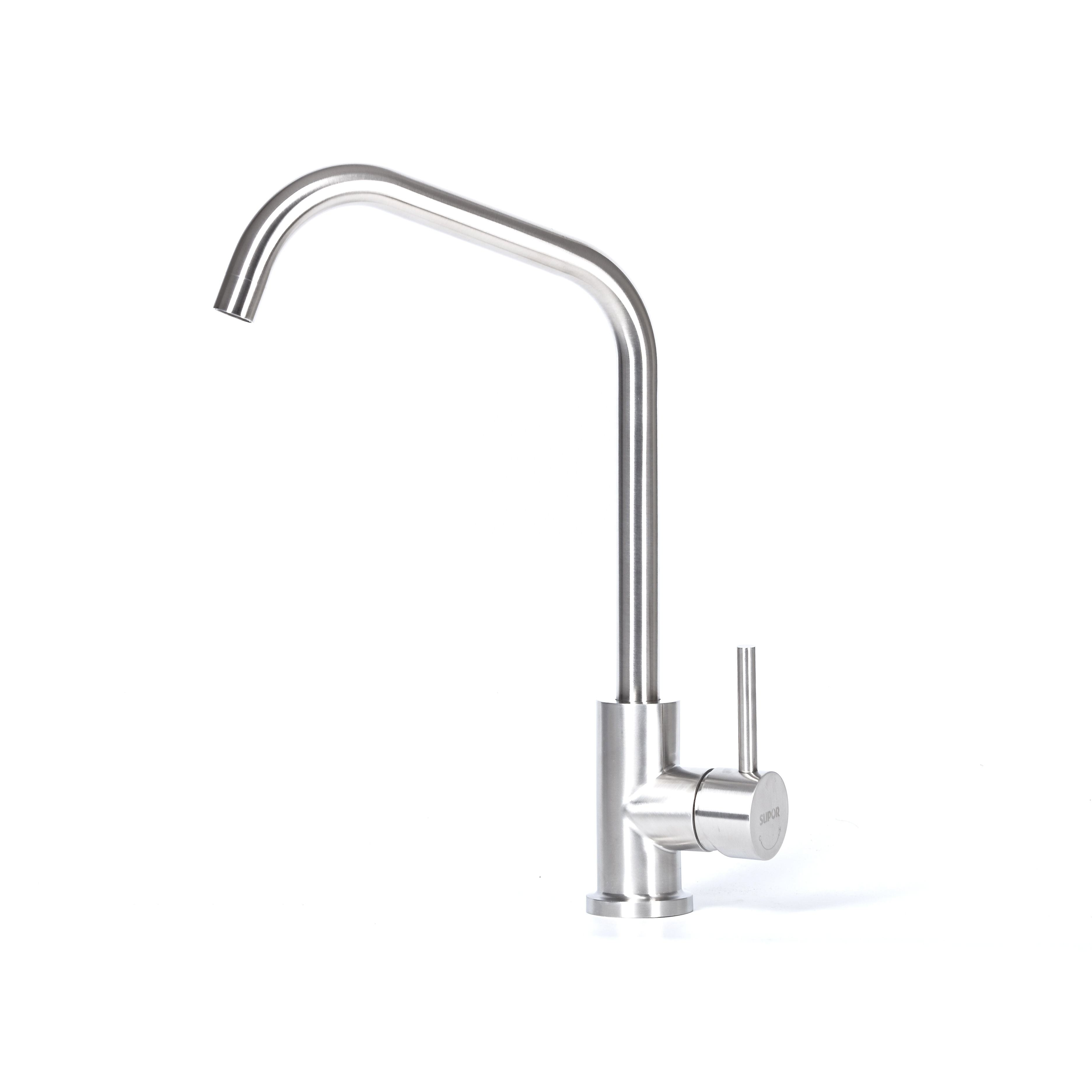 304 Stainless Steel 360 Degree rotatable Sink Mixer Kitchen Faucet Tap