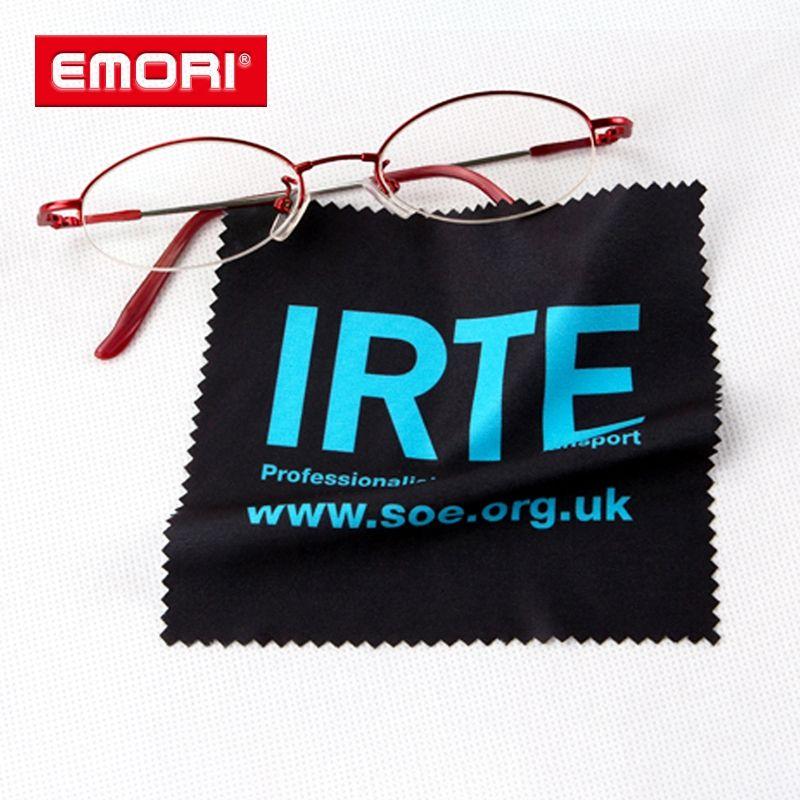 Marke Name Nach Verschiedenen Größe Mikrofaser Gläser Reinigung Tuch