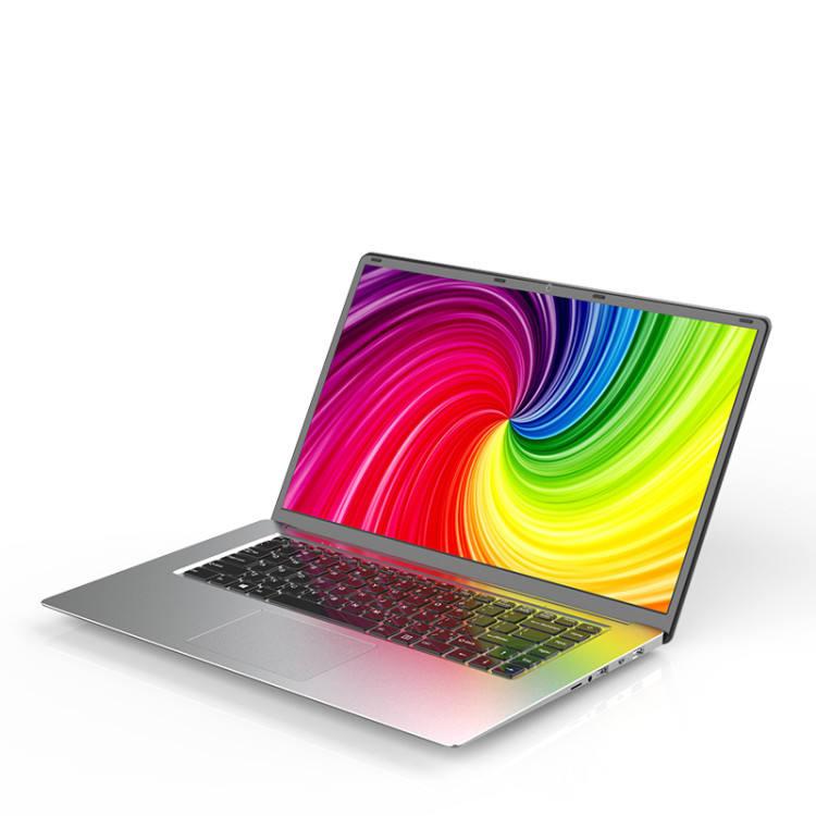 Entrega rápida Slim 15,6 pulgadas FHD ordenador portátil 8GB + 256GB SSD Quad Core Intel Celeron Win10 portátil de juegos