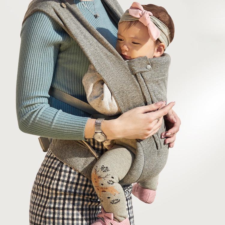 Zaino di Alta Qualità <span class=keywords><strong>Elastico</strong></span> Infant Sling Logo Personalizzato Mussola di Cotone Del Bambino Wrap Carrier