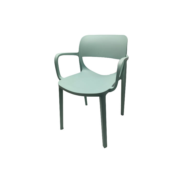 Good Quality And Cheap Stackable Restaurant Dining Chairs Plastic Chairs With Armrest