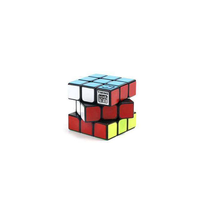 high speed puzzle cube rubikes cube toys 3x3 cube With timing function