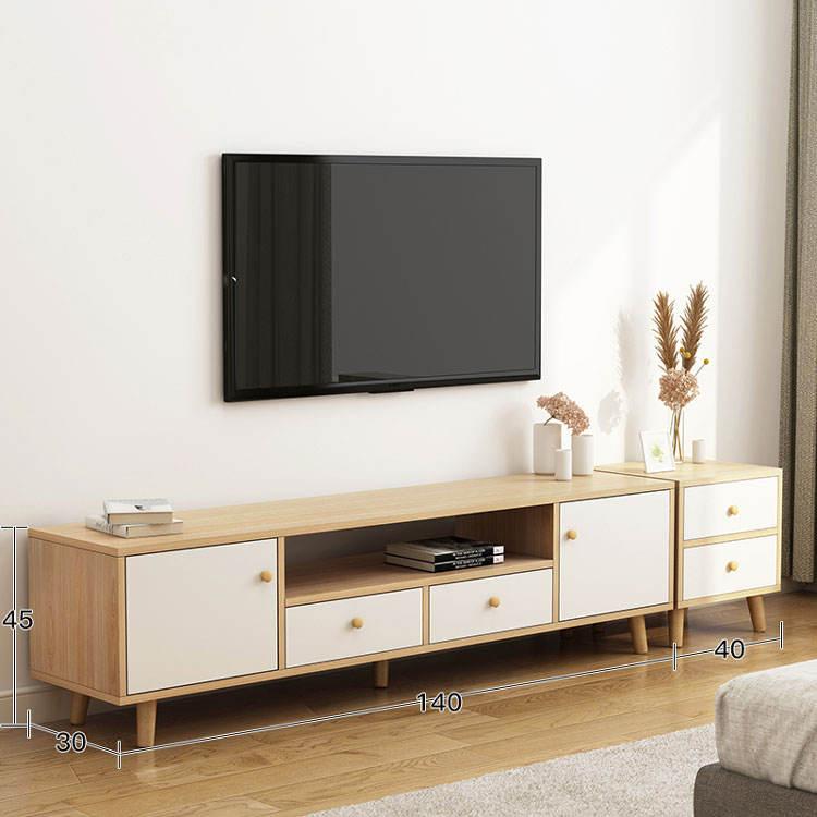 Branco Nórdico Design Moderno Tv Stand Móveis Tv Armário de Madeira Maciça Estilo Americano Real Gabinete