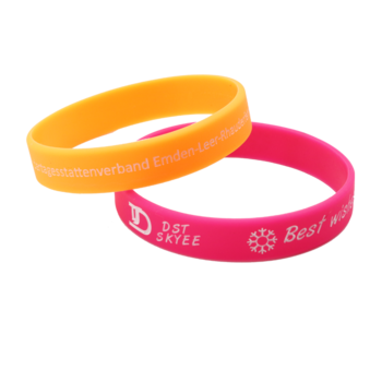 Hot Sale Personalized Cheap Silicone Magnetic Bracelets Colors