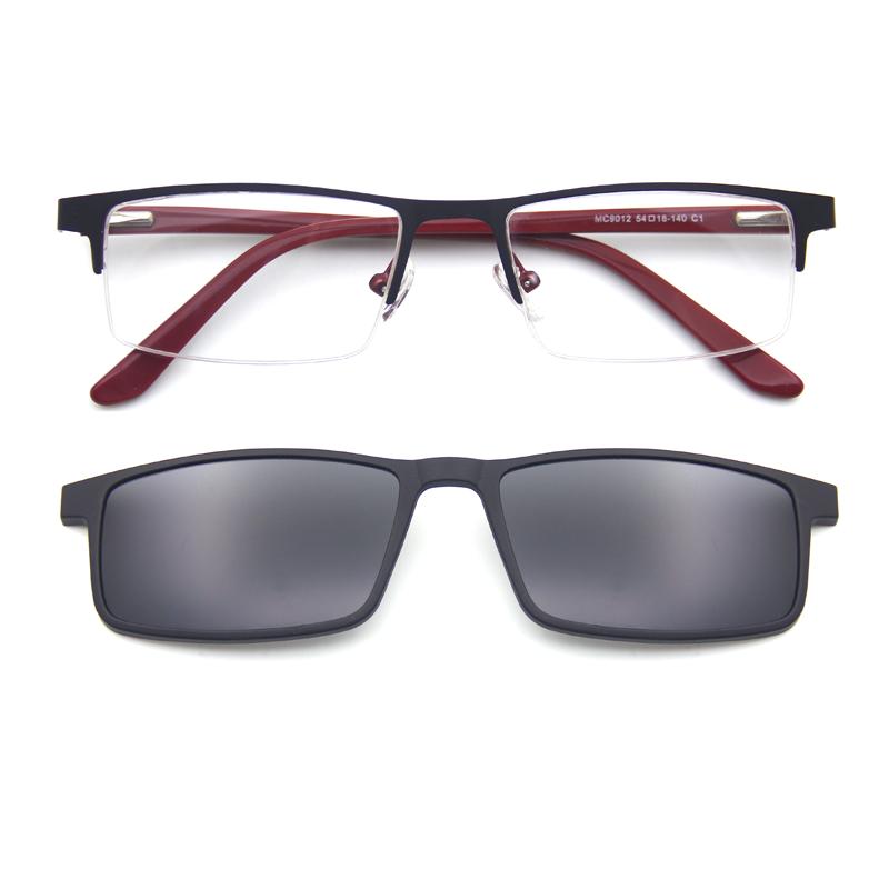 Высокое качество Новый дизайн большой размер оптическая рамка Клип на солнцезащитные очки готовы