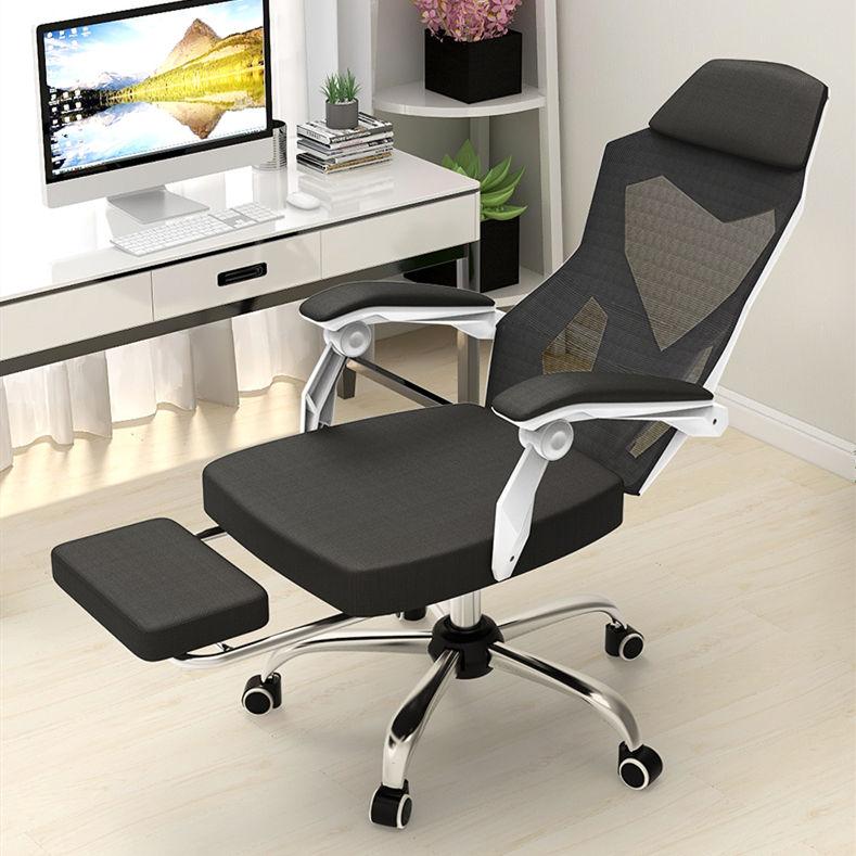 Equipo de <span class=keywords><strong>oficina</strong></span> silla cómoda <span class=keywords><strong>a</strong></span> largo plazo sentado simple respaldo reclinable giratoria silla arco reunión silla