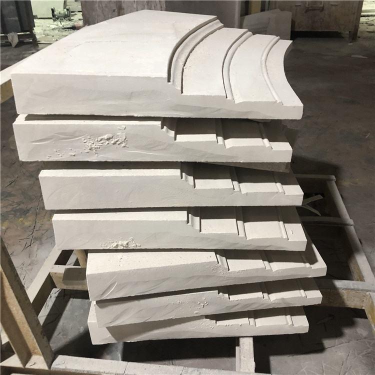 Diseño de gama alta y elegante romaníes pequeña casa columnas columna de mármol de piedra caliza casa pilares diseños