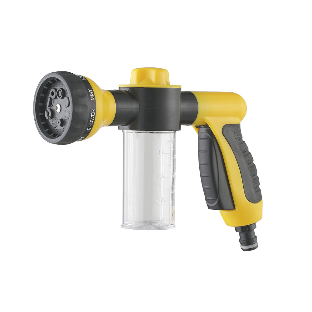 Smart design lighter misting waterjet sprayer fogger high pressure garden hose water spray car wash gun