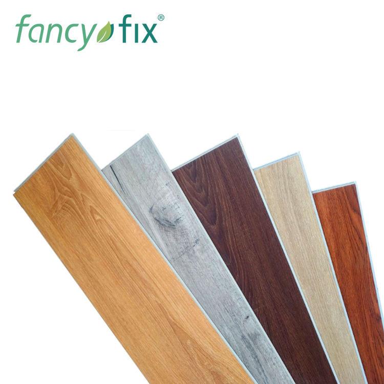 Pvc de aspecto de madera suelo de vinilo autoadhesivo