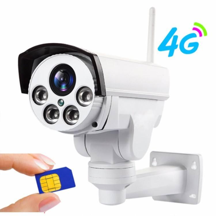 1080 pホームIP防水屋外3 g 4 g WiFiセキュリティCCTV Simカードスロットカメラ