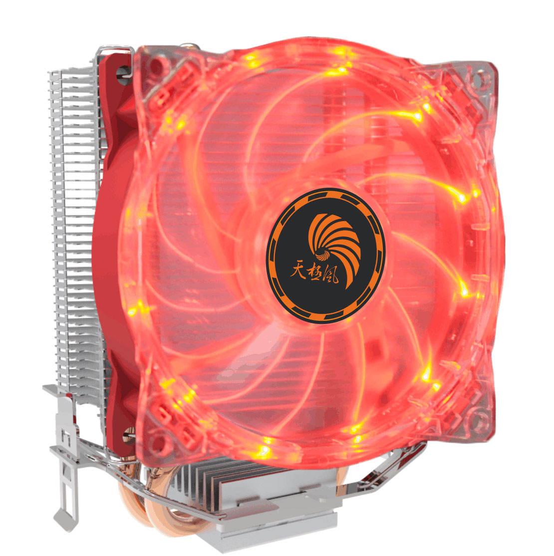 <span class=keywords><strong>Offre</strong></span> Spéciale Tube De Cuivre Dissipateur De Chaleur En Aluminium Avec LED Rouge