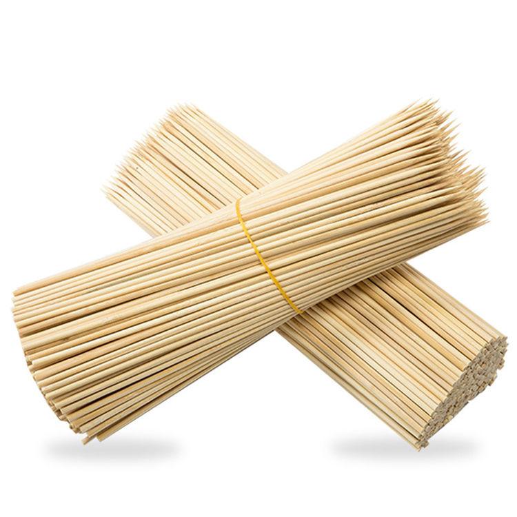 Acheter Chine Pas Cher Bambou Naturel Hot-Dog Hot-Dog De Pommes De Terre Brochette Fabricant Bâton De Bambou Fournisseur