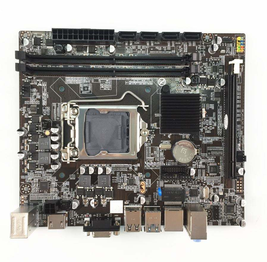 H110 <span class=keywords><strong>Chipset</strong></span> 4 * Usb3.0 porte Lga115 Pc Desktop di Scheda Madre