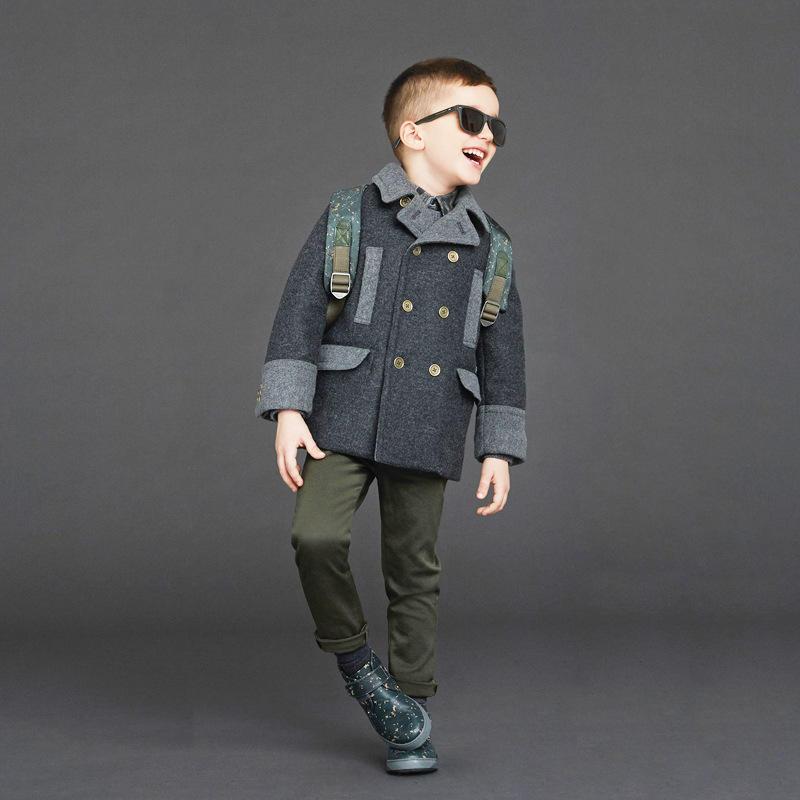 2019 Новое модное зимнее Детское пальто для мальчиков зимняя одежда