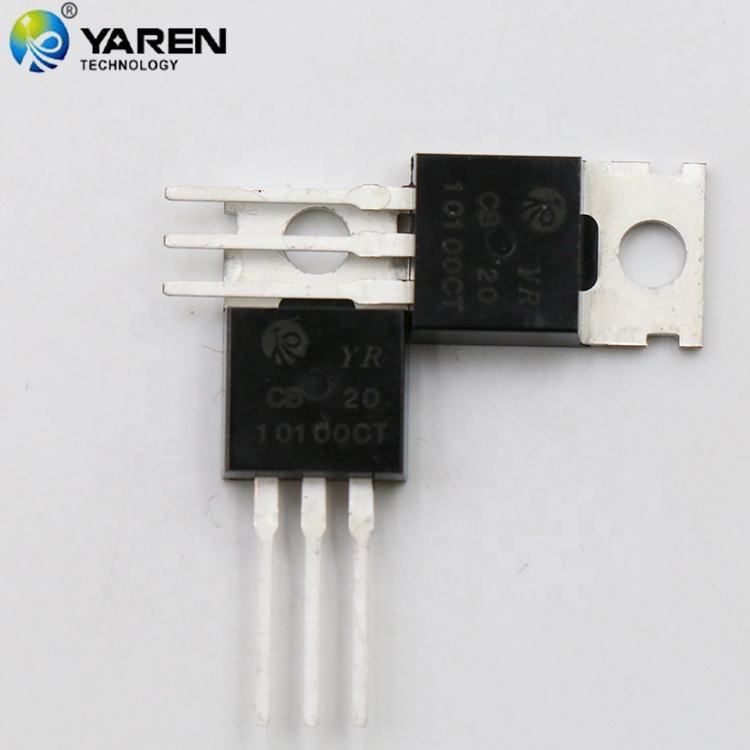 MBR10100 10A 100 V 10A Schottky <span class=keywords><strong>engelleme</strong></span> diyotu çift yüksek gerilim Schottky doğrultucu