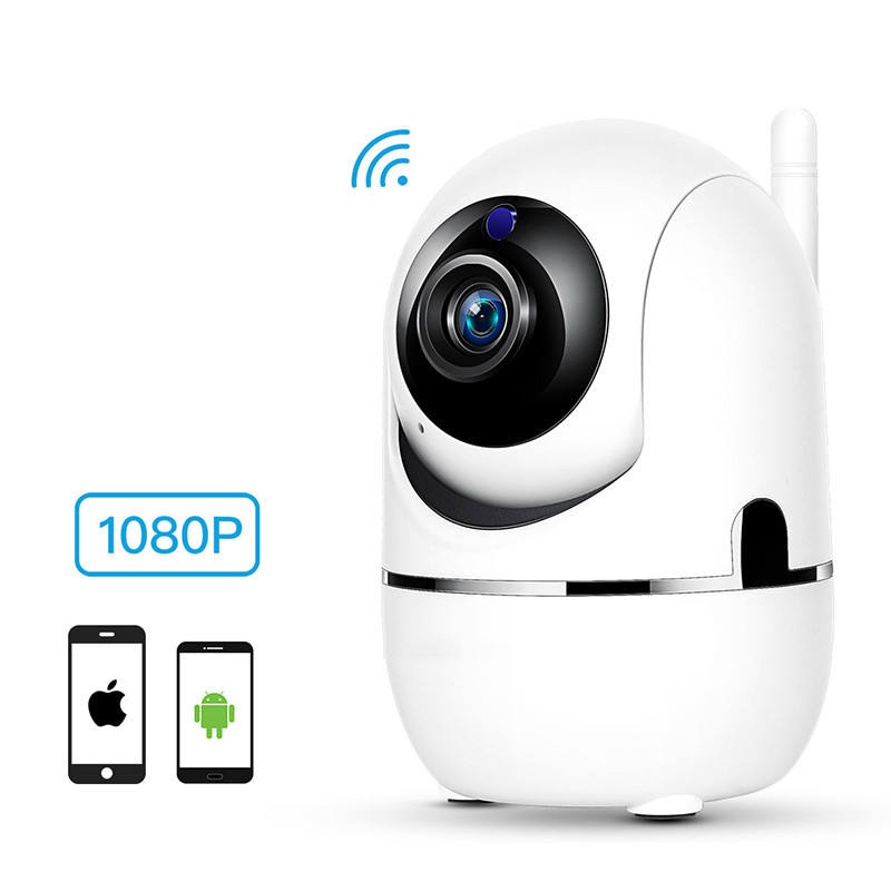 Moins cher Haute Résolution 1080 P Bidirectionnel Wifi Sans Fil <span class=keywords><strong>Caméra</strong></span> DE VIDÉOSURVEILLANCE pour la sécurité à la maison