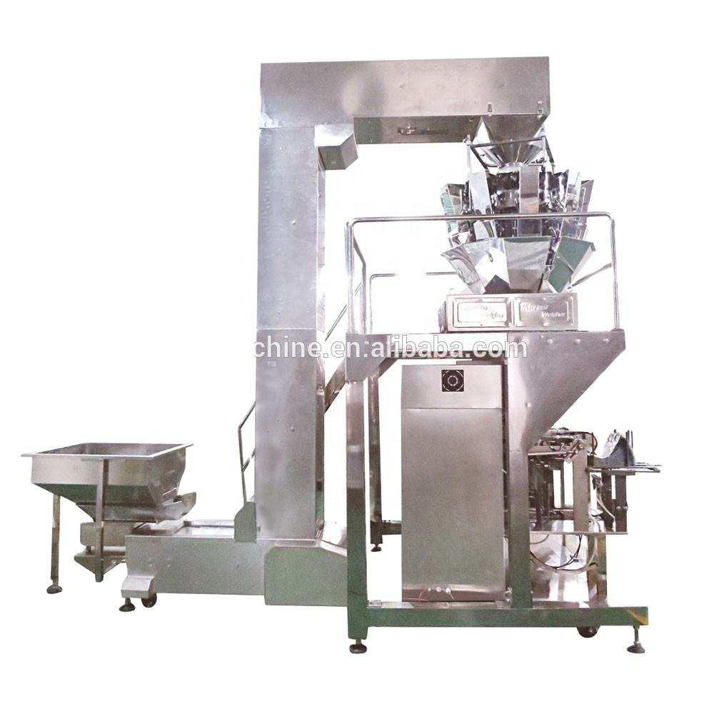 Full automatic big vertical packing machine for granule products fish food