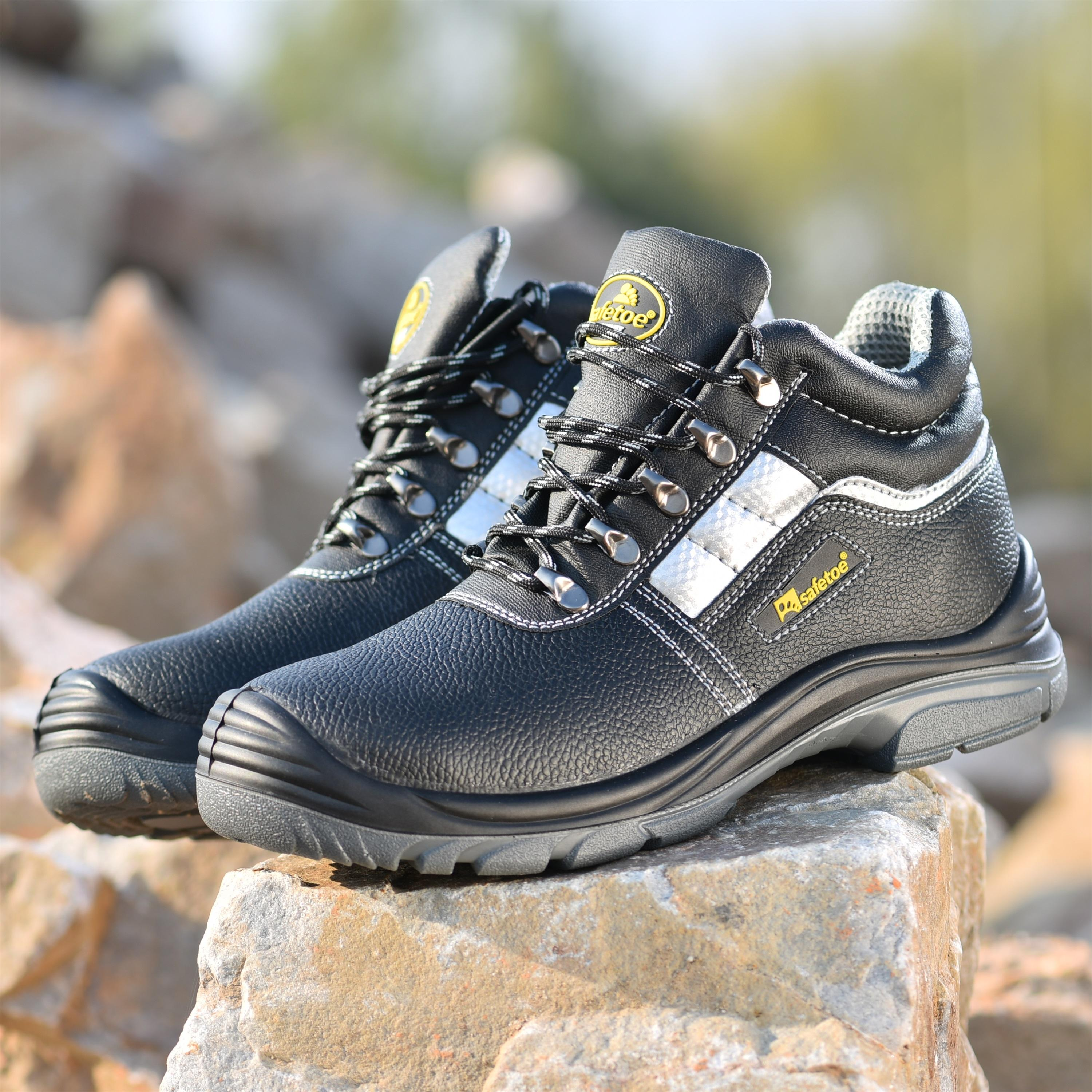 Mens Work Safety Shoes Indestructible Steel Toe Boots Hiking Sports Sneakers S3