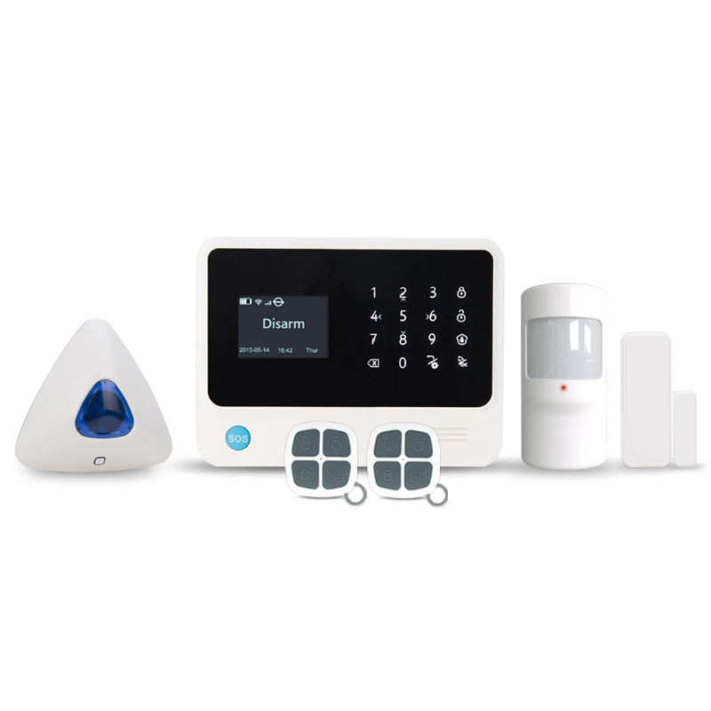 2019 New Golden Security G90B PLUS 3G WIFI Security Alarmsmart alarm system systems alarm Android IOS Application security alarm