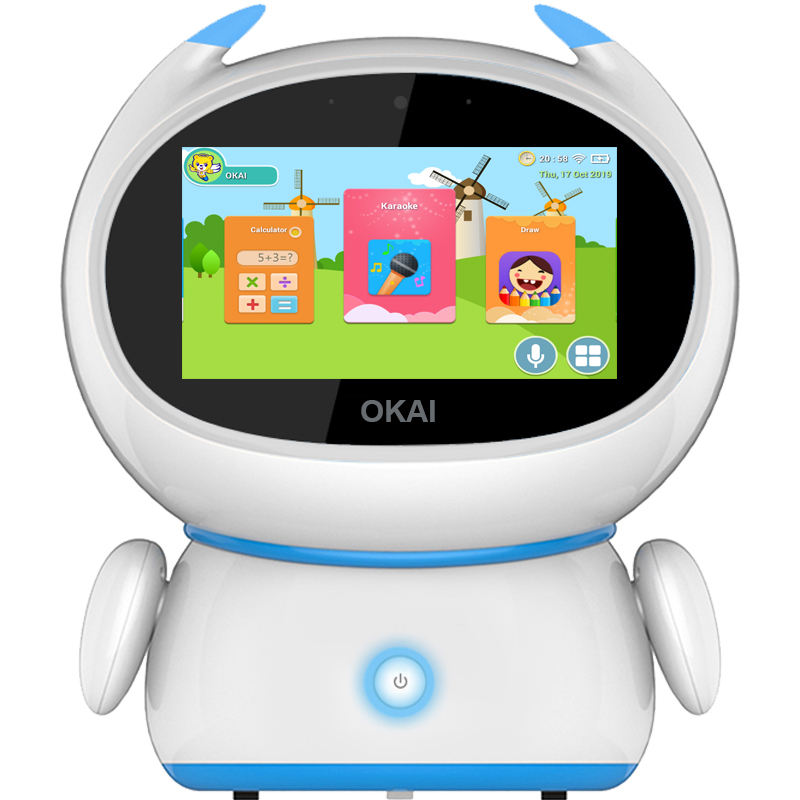 OKAI Early Education Machine Study Toy learning machine Simple Child Kids Style Touch Children Plastic Feature Material
