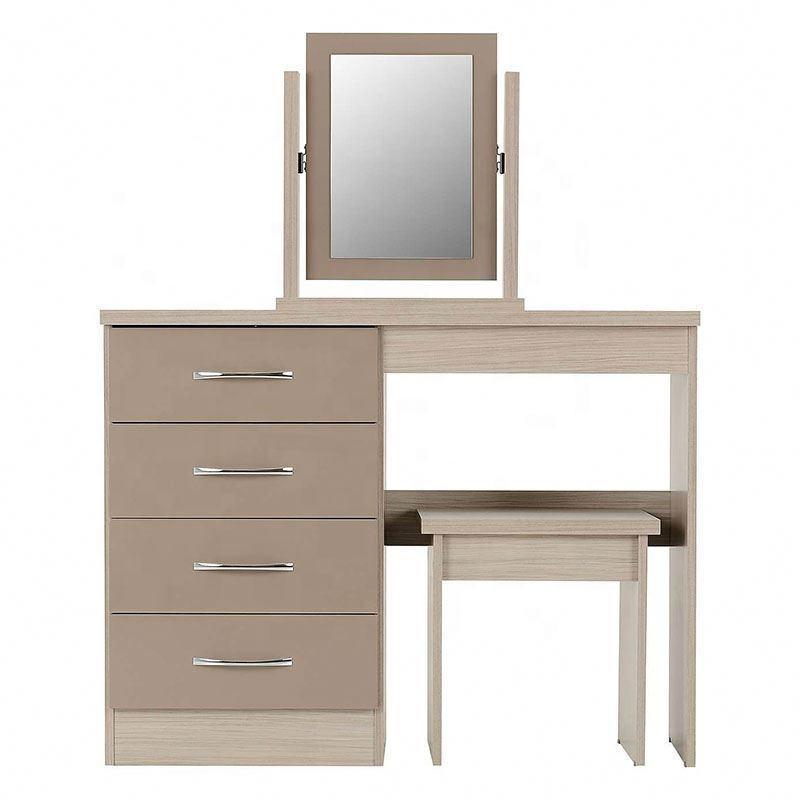 Mini armario Simple de gran tamaño apartamento adecuado moderno multifuncional <span class=keywords><strong>ventanas</strong></span> de la habitación de maquillaje tocador