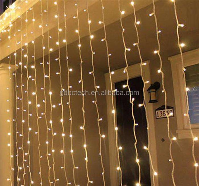 3 м сказочные звезды рождественские огни окна свадьба водопад мерцание отель Электронная светодиодная гирлянда Лифт свет занавес