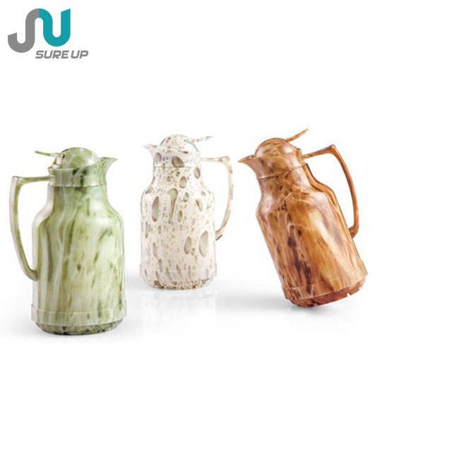 Popular exterior de plástico aislado al vacío de termo de café para el hogar