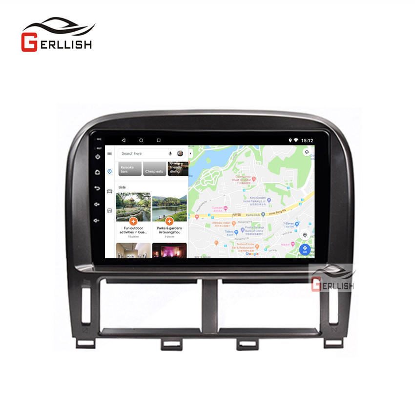Android Car Multimedia Player For Lexus LS430 9 Inch 6G +128G ROM GSP 1999-2006 Multimedia Stereo Radio Head Unit Player
