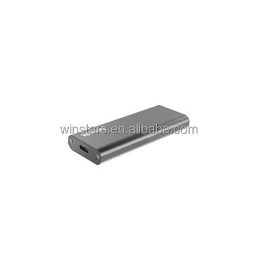 USB 3.1 Gen2 M.2 NGFF Muhafaza taşınabilir Tip-c çözümü veri depolama veya kurtarma