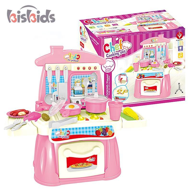 Дети приготовления шеф-повара дети ролевые игры кухонный набор игрушки с легкой музыкой