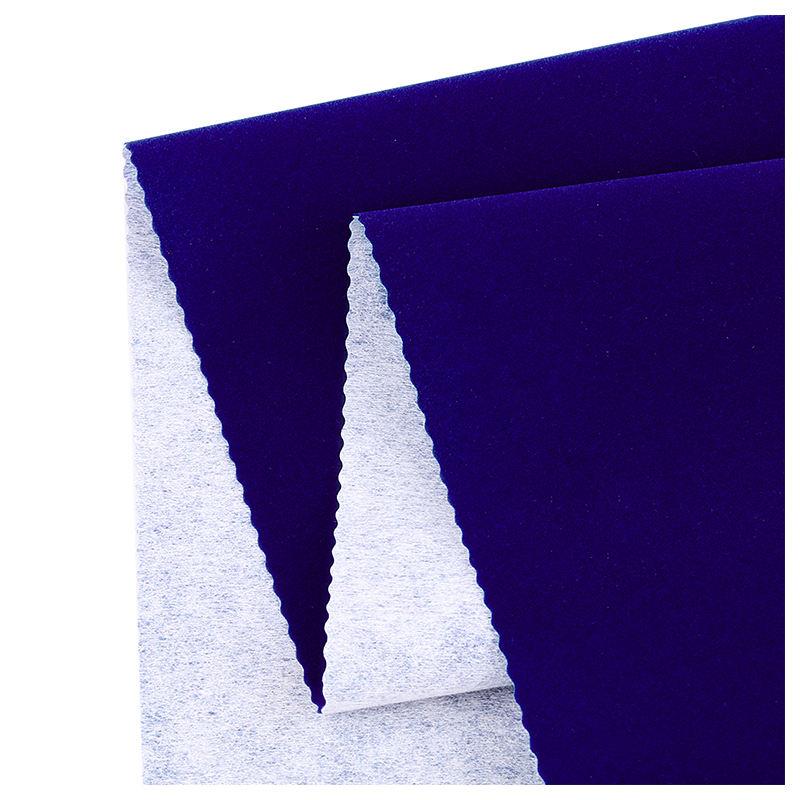 La industria electrónica de terciopelo barato y de alta calidad de flocado rollo