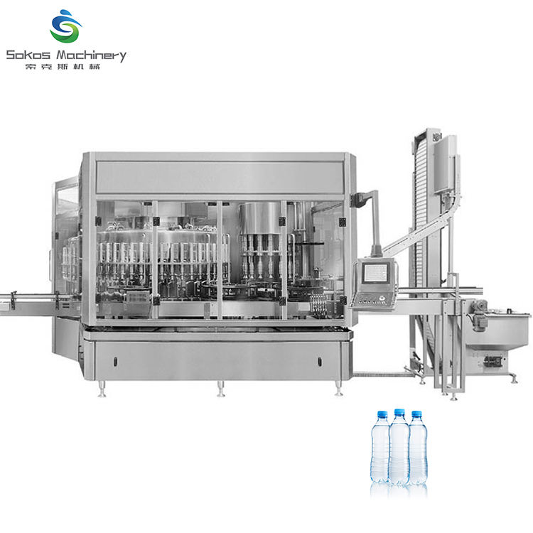 経済的なインライン Sarchet 水充填機で水充填機ライン