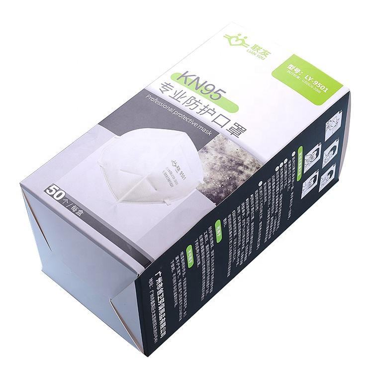 350 <span class=keywords><strong>г</strong></span> белая карточная бумажная коробка <span class=keywords><strong>N95</strong></span> KN95 50 шт маска для лица упаковка коробка для маски для лица для продажи