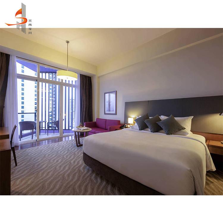 Guangdong foshan OEM/ODM hôtel américain santiago ado garçon ensemble de meubles de chambre à coucher