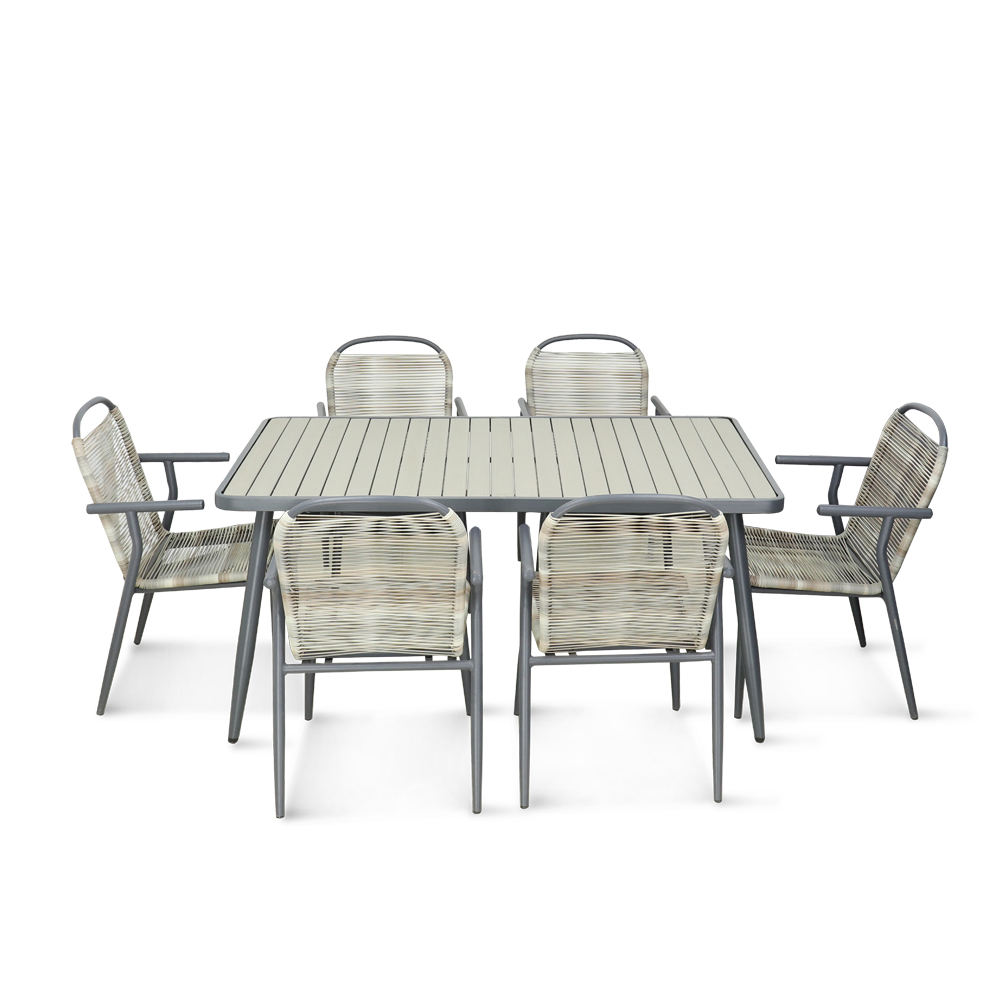Hot Sale restaurant Outdoor garden dining furniture patio table and chair set Outdoor furniture