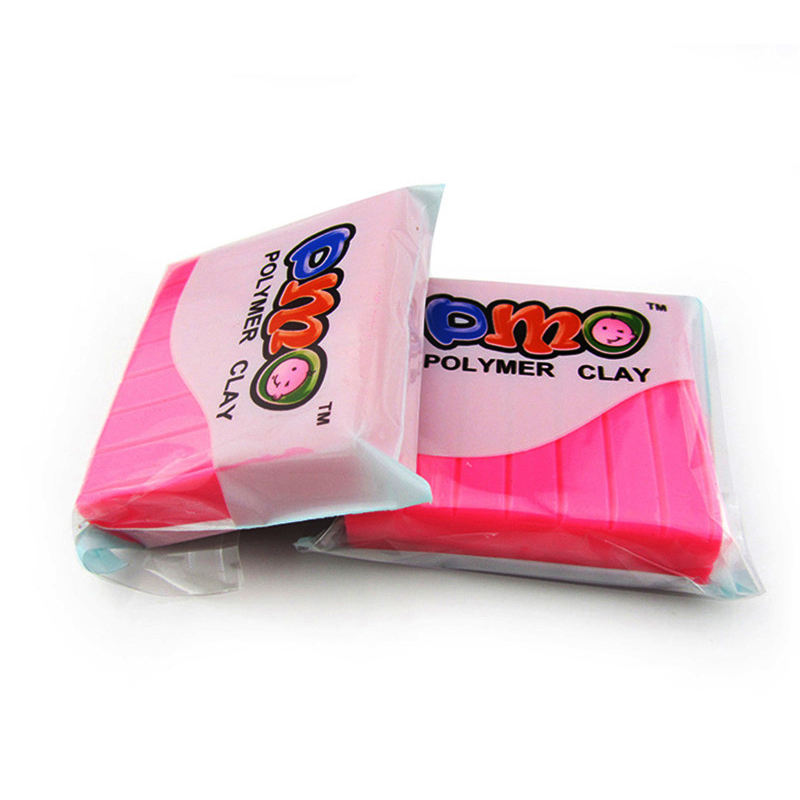 DMO Yiwu Bobao toy factory supply 50g EN71 ASTM safe no dry flexible kids adult DIY crafts gift modeling roast polymer Clay