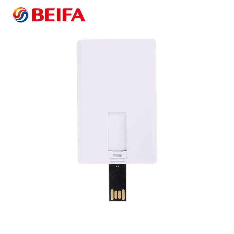 8 GB Thẻ Trắng Hình Dạng Bộ Nhớ Dữ Liệu Ổ <span class=keywords><strong>Đĩa</strong></span> Flash USB Với Khu Vực Rộng Lớn Logo In