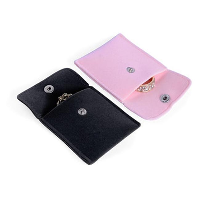 Impreso personalizado de sobre joyería bolsa de terciopelo