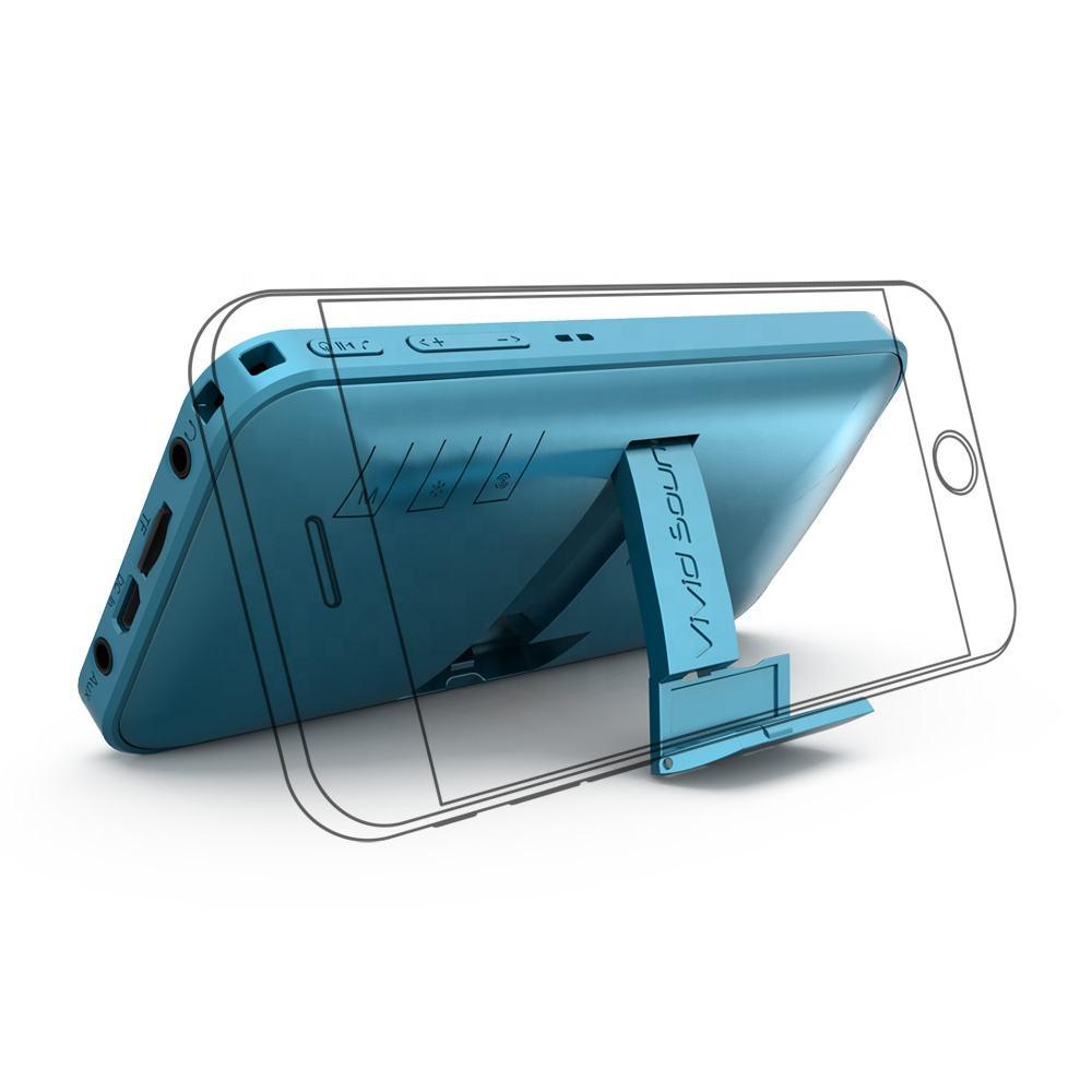 미니 휴대용 논픽션 미니 휴대용 스피커 boombox 빈티지 내구성 시간 움직이는 최고의 가격 전화 홀더 스피커
