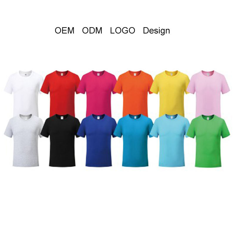 Wholesale support sample colorful unisex oem odm printing pattern custom logo t shirt 100% cotton t shirt men t-shirt