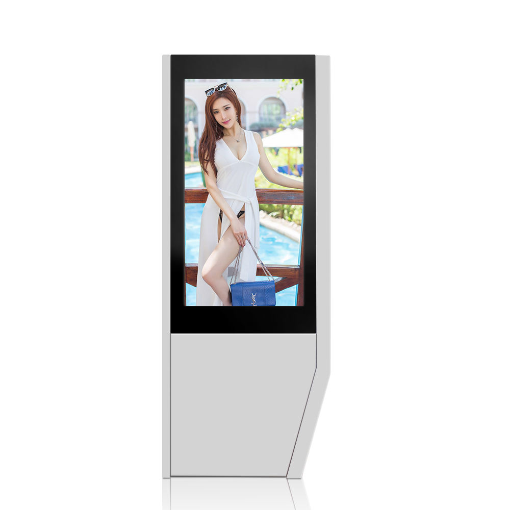 Stands waterproof digital signage touch screen player retail kiosk panel lcd outdoor advertising display