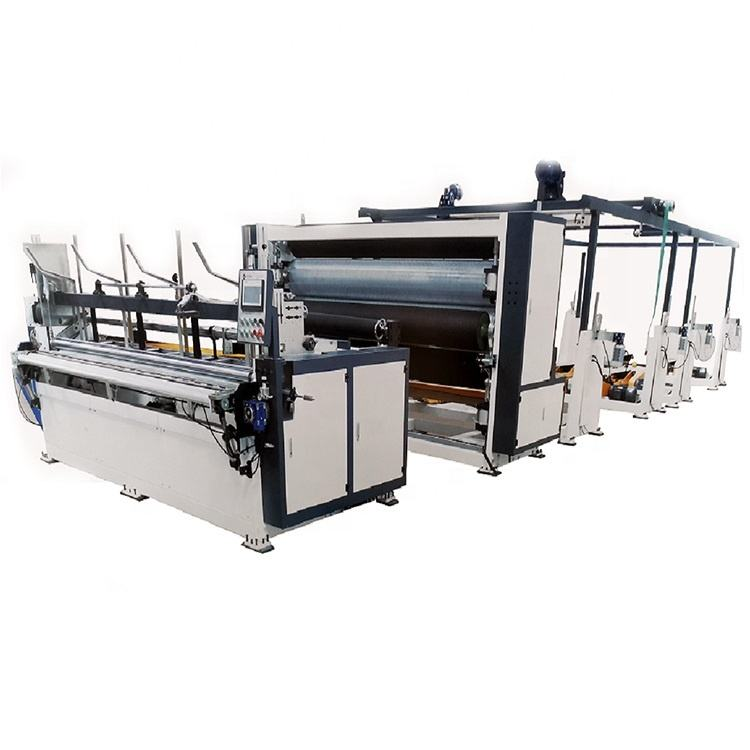 Youdeng toilet paper processing capacity 120-260m/min rewinding machine for bath tissue