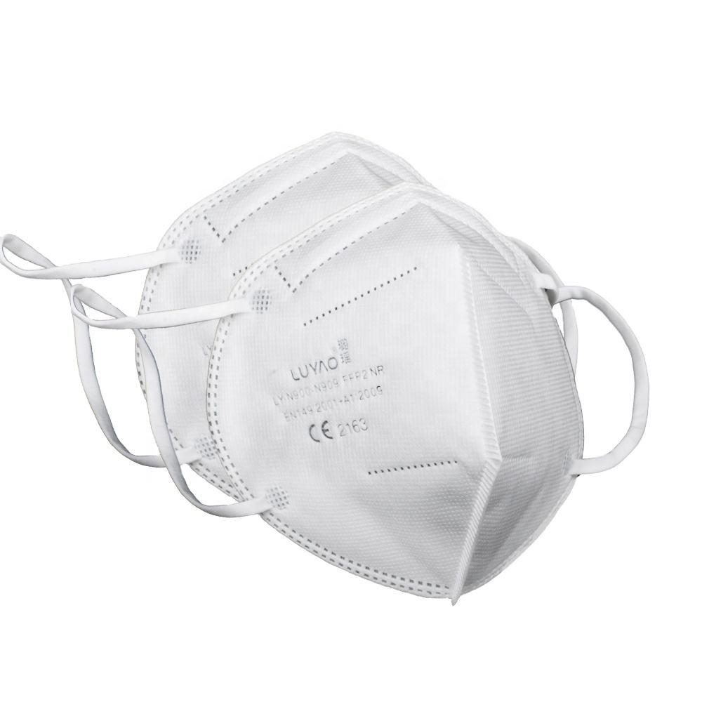 Prezzi bassi Bianco All'ingrosso Fornitore Non-tessuto Adulto Ragazza Maschera di Moda