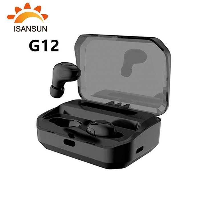 ISansun <span class=keywords><strong>G12</strong></span> Handsfree Kulaklık sporcu kulaklığı oyun kulaklığı Telefon bluetooth kulaklık 5.0 Kulaklık TWS kablosuz kulaklıklar