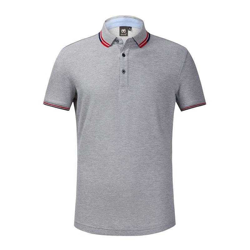 2020 promosyon en İyi kalite özel logo boş ucuz hızlı kuruyan tasarım renk kombinasyonu polo t shirt