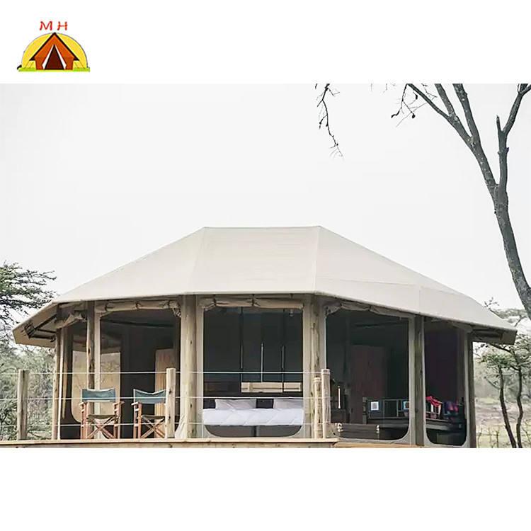 Luxus glamping safari OEM/ODM freien eco hotel zelt für verkauf