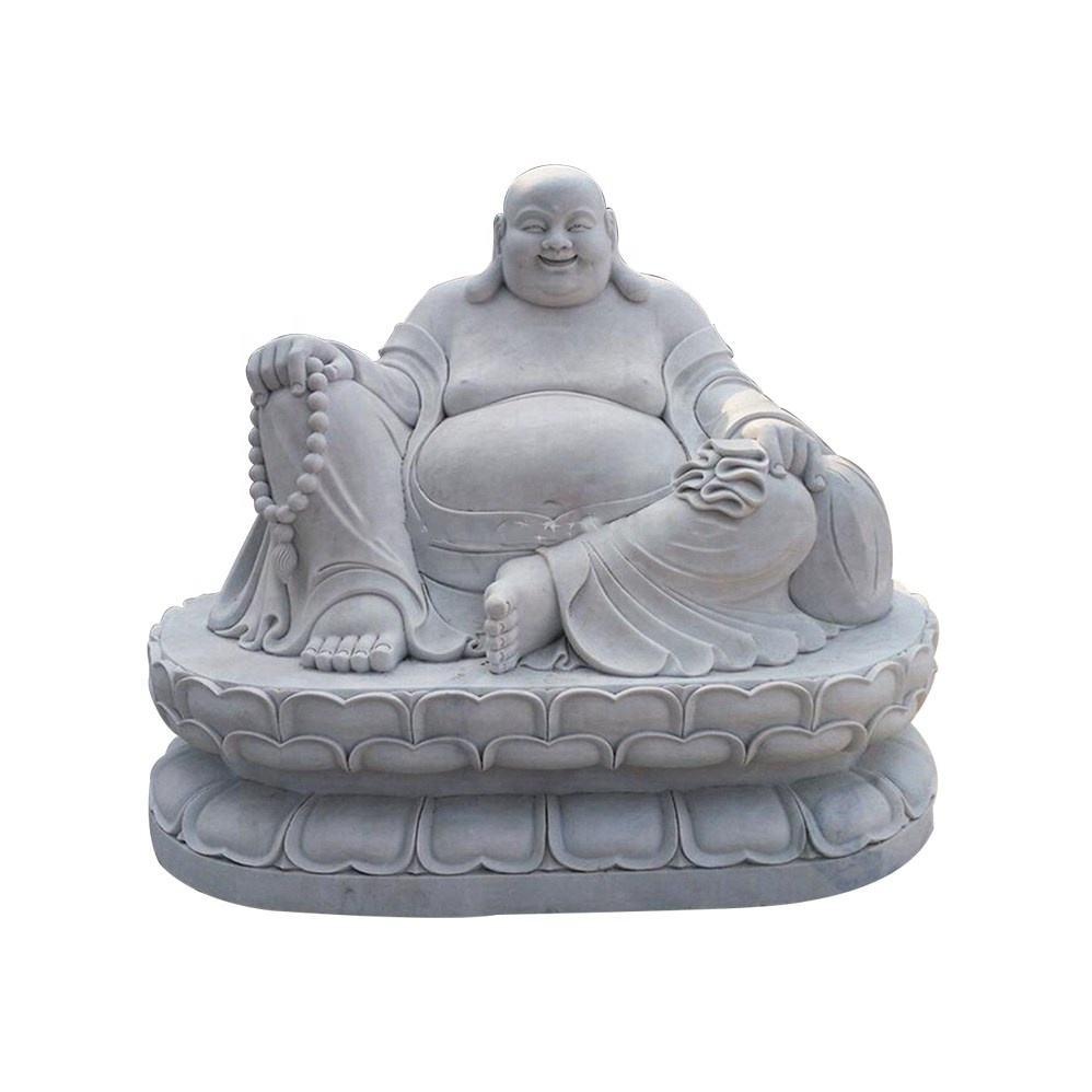<span class=keywords><strong>Tapınak</strong></span> dekorasyon Taş oyma ürünleri Mermer gülüyor Buda heykeli