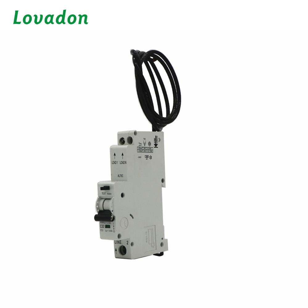 Einzigen Phase Über Strom Leckage Schutz Fehlerstromschutzschalter elektrische schalter fi-schutzschalter circuit breaker