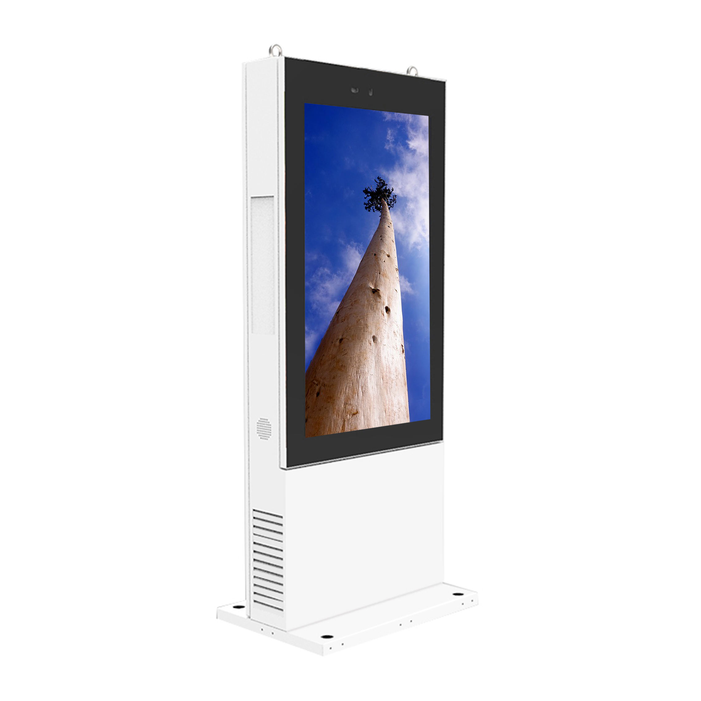 Outdoor 43 pollici Stand-Alone Display <span class=keywords><strong>LCD</strong></span> Digital Signage Chiosco Totem IP65 Impermeabile Dusproof