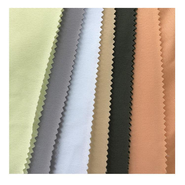 Düz renk % 100% Polyester süper poli arka <span class=keywords><strong>astar</strong></span> <span class=keywords><strong>triko</strong></span> fırçalanmış giysi kumaşı
